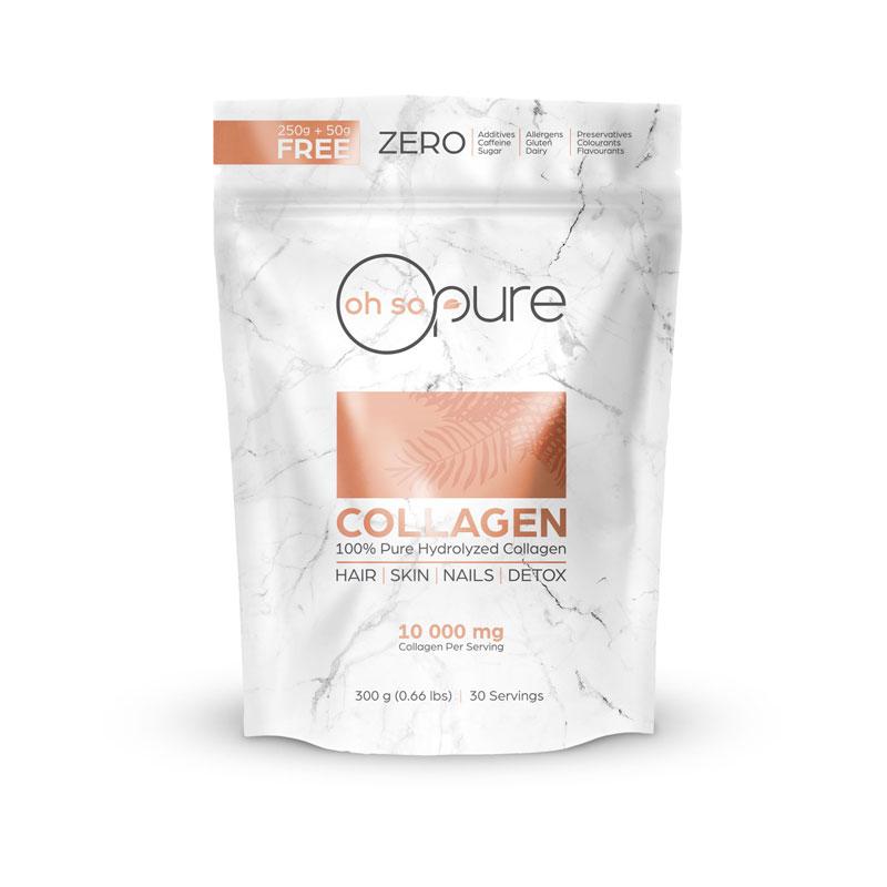 Oh So Pure - 300g 100% Hydrolyzed Collagen Powder