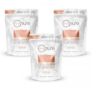 100% Hydrolyzed Collagen Peptides 900g (3 Month Bundle)